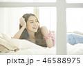 女性 リラックス ライフスタイルの写真 46588975
