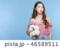 ポートレート 女性 若いの写真 46589511