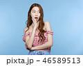 ポートレート 女性 若いの写真 46589513
