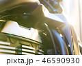 モーターサイクル バイクのクローズアップ写真 46590930