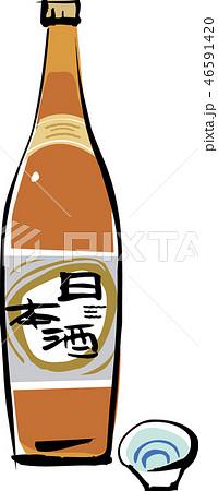 日本酒 46591420