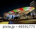 都会 都市 ネオンの写真 46591775