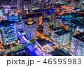 横浜 みなとみらい 夜景の写真 46595983