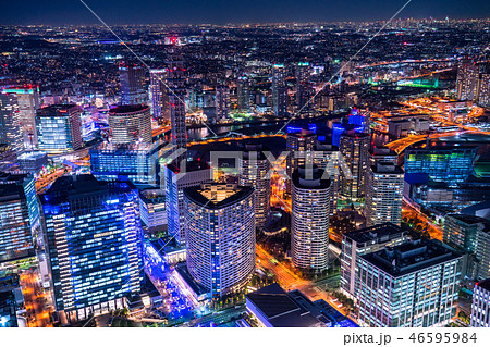 《神奈川県》横浜みなとみらい・夜景 46595984