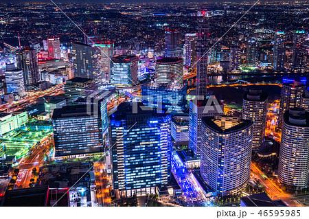 《神奈川県》横浜みなとみらい・夜景 46595985