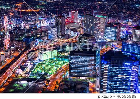 《神奈川県》横浜みなとみらい・夜景 46595988