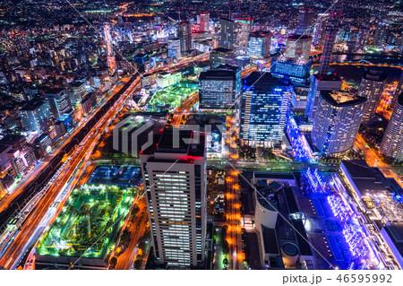 《神奈川県》横浜みなとみらい・夜景 46595992