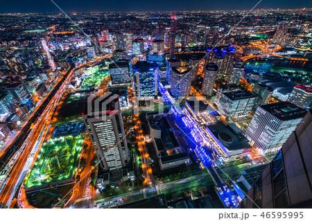 《神奈川県》横浜みなとみらい・夜景 46595995