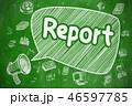 報告 解析 分析のイラスト 46597785