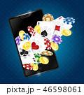 スマートフォン モバイル カジノののイラスト 46598061