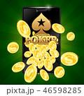 モバイル 金色 黄金色のイラスト 46598285