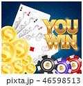 ポーカー カジノ カジノののイラスト 46598513
