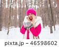 ウィンター 冬 女の写真 46598602