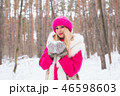 ウィンター 冬 ゆきの写真 46598603
