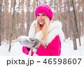 ウィンター 冬 女の写真 46598607