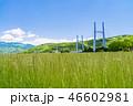 高架橋 田 田園の写真 46602981