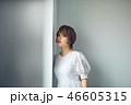 女性 ポートレート 若い女性の写真 46605315