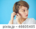 人物 女性 女の子の写真 46605405