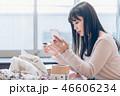 若い 女性 フリマアプリの写真 46606234