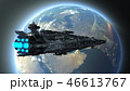 宇宙船 宇宙 惑星のイラスト 46613767
