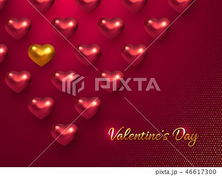 Valentines day holiday horizontal banner. 46617300