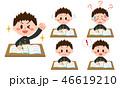 勉強 ベクター セットのイラスト 46619210