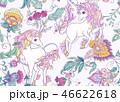 ユニコーン パターン 柄のイラスト 46622618