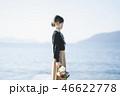 女性 花束 人物の写真 46622778