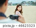 デート カップル 韓国人の写真 46623323