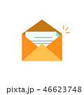 封筒 オープン 開くのイラスト 46623748