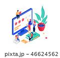 ベクトル ビジネス 商売のイラスト 46624562