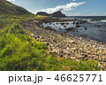Close-up shoreline with the boulders. Ireland. 46625771