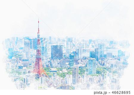 初夏の東京 46628695