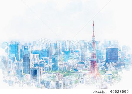 初夏の東京 46628696