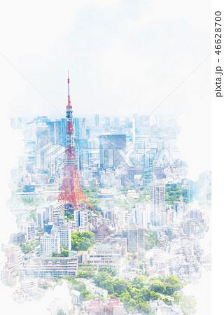 初夏の東京 46628700