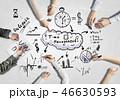 ビジネス 商売 ブレーンストーミングの写真 46630593