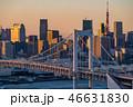 都市風景 アジア 高層ビルの写真 46631830
