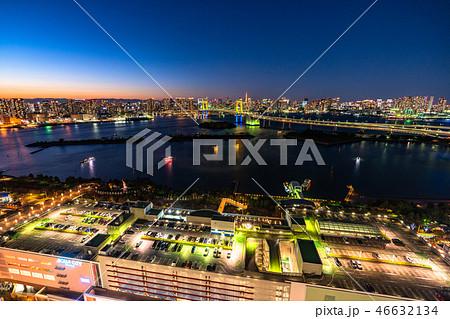 《東京都》東京ウォーターフロント・トワイライト夜景 46632134