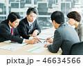 会議 ビジネスマン ビジネスの写真 46634566