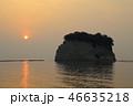 朝日 海 日の出の写真 46635218