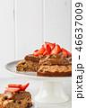 ケーキ チョコレート クリームの写真 46637009