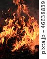 焚き火 火 炎の写真 46638839