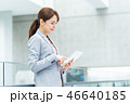 ビジネスウーマン ビジネス タブレットの写真 46640185