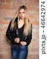 美しい 女性 メスの写真 46642974