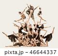 ダンサー 女性 人々の写真 46644337