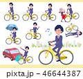 男性 ビジネスマン 自転車のイラスト 46644387