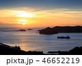 長崎 夕陽 風景の写真 46652219