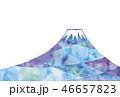 富士山のイラスト 46657823