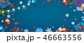 クリスマス ベクター バックグラウンドのイラスト 46663556