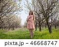 女 女の人 女性の写真 46668747